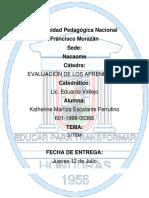 Software Para Elaborar Exámenes en Línea KATHY ESCALANTE.