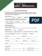 Franchise Application Form v2