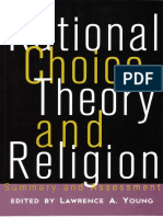 Ianaccone Laurence - Rational Choice Theory - Xrationalchoice Xreligion