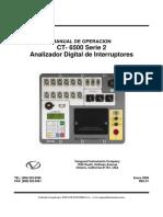 Manual Ct6500