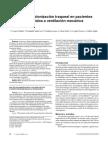 Rutas de colonización traqueal en pacientes sometidos a ventilación mecánica