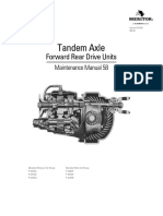 Meritor Tandem Axle Forward Rear Differential Parts Manual
