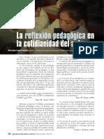 2.La Reflexión Pedagógica en La Cotidianidad Del Aula (1)