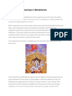 Flags and Their Meanings in Mahabharata