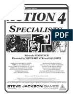 GURPS 4e - Action 4 - Specialists