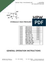 Cap.5 547705 High Pressure Cleaner HPW Manual ENG