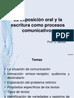 La Exposición Oral y La Escritura Como Procesos Comunicativos 2