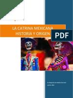 La Catrina Mexicana, Origen e Historia