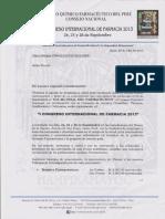 Congreso Internacional de Farmacia 2013