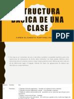 Estructura Básica de Una Clase