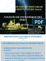 Protección Contra Descargas de Rayos Según NTP-IEC 6205-Flavio Tito-Para-rayos