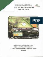 Rancangan Renja Dan Rkt 2018