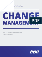 An Introduction Guide to Change Management Guide