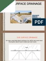 4. Sub Surface Drainage Ujb