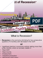 Effect of Recession - HARSHAD MORE