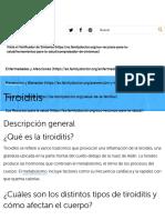 Tiroiditis - Familydoctor.org