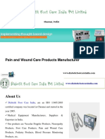 Pain and Wound Care Products Manufacturer