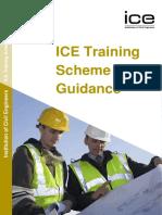 Ice Training Scheme Guidance