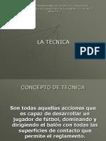 LA TCNICA - HABILIDAD Y DESTREZA (1).pptx