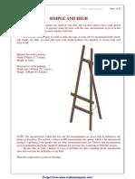 A frame tripod easel plan.pdf