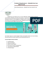 Vascular Doppler Products Manufacturers
