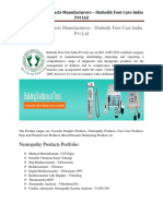 Neuropathy Products Manufacturers.