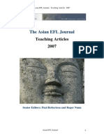 2007 Teaching Articles