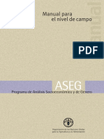 Manual Analisis Socioecomòmico y de Genero (ASEG)
