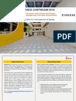 Concept Doc FinanceContinuum 2018