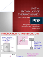 Unit 6 - Second Law of Thermodynamics