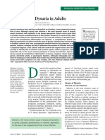 Evaluation of Dysuria in Adults