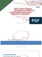 1. New- Peran Pemilik, Dewas Dan Direktur RS Dalam PMKP