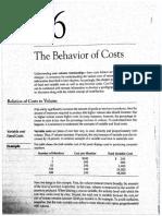 The Behavior of Cost - CASE 16-1 Hospita Supply Inc.