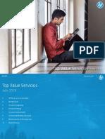 Top Value Servicios Julio 2018