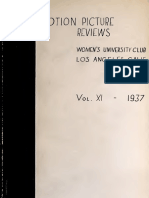 Motion Picture Reviews (1937)