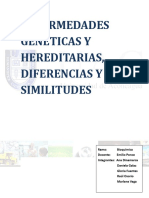 Enfermedades Geneticas y Hereditarias