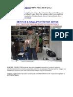 Service Projector Depok | 0877-7007-8170 (XL)