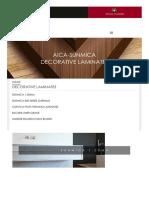 Decorative Laminates Sheets - Aica Sunmica