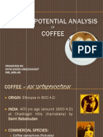 Export Potential Analysis of Indian Coffee