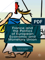 France and the Politics of European Economic and Monetary Unity