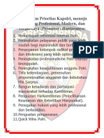 11 Program Prioritas Kapolri
