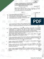 JNTUH Mtech Advanced Reinforced Concrete Design question paper