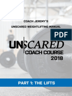 Jeremy's UnScared Weightlifting Manual