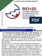 2ª Aula - Rio +20