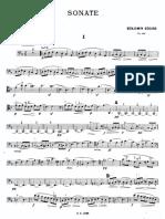 Godard Sonate for Cello and Piano - Cello