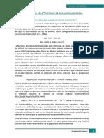 Cuestionario Del 3er Informe de Geoquímica General