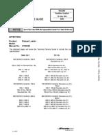 Informacion Tecnica Minicargadoras Linea g
