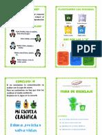 Reciclaje Yaqui