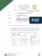 Regional Memorandum No. 268 s.2018 2