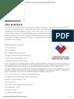 ORD. Nº0879_018 - Normativa Laboral. Dirección Del Trabajo